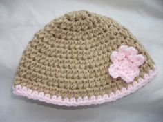 Easy Baby Beanie Crochet Hat Pattern