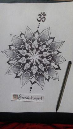 Mandala pen - Benaia Lampert