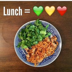 Sweet Potato Noodles with Chicken on a Friday :) Recipe Found Here: @inspiredsimplyfitnessproject
