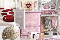 Linge de maison déco : serviettes éponge et tapis de bain http://www.idee-deco-by-helline.fr/linge-de-maison-le-mois-du-blanc