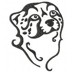 Wild Leopard Machine Embroidery Design Single
