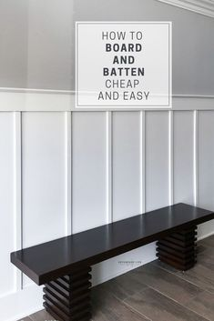Home Renovation, Home Remodeling, Organizar Closet, Vestibule, Moldings And Trim, Moulding, Board And Batten, Diy Home Improvement, Home Projects