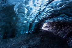 アイスランドで最大の氷河ヴァトナヨークトル in アイスランド