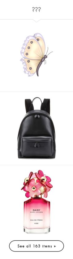 """""""ᴄʜᴀ"""" by overdose-onstyle ❤ liked on Polyvore featuring bags, backpacks, backpack, accessories, mochila, sac, black, genuine leather bags, real leather bags and balenciaga"""