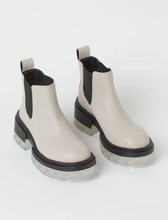 The 36 Coolest Fashion Finds I Saw This Month   Who What Wear H&m Gifts, Light Beige, Fashion Company, Rubber Rain Boots, Chelsea Boots, Personal Style, Lady, Leather, Shopping