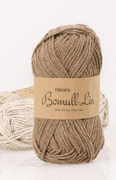 DROPS Bomull-Lin colour chart ~ DROPS Design (cotton & linen)