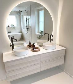 Bathroom Design Small, Bathroom Interior Design, Modern Bathroom, Dream Home Design, House Design, Teen Room Decor, Bathroom Renos, Dream Bathrooms, Home Decor Furniture