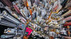 Yeung picked up a drone, attached a powerful camera to the drone and started capturing the aerial view of the city.