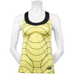 New Balance Printed Racerback Tank: New Balance Women's Tennis Apparel