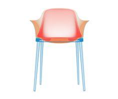 COLORFUL MODERN CHAIR DESING | Plastic chair design | www.bocadolobo.com/ #modernchairs #chairideas