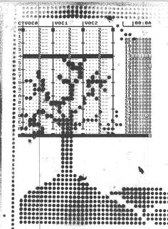 'Fax & Frankering for Folket' performance.  Original DEFMON