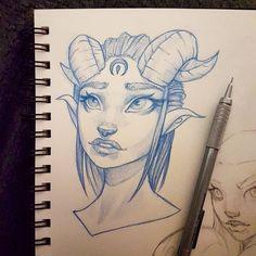 "603 Likes, 6 Comments - Anthulu (@anthuluart) on Instagram: ""New sketch :-) #art #drawing #sketchbook #instaart #artofinstagram #portrait #face #improvement…"""