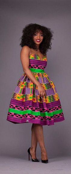 30 Stylish Ankara Styles to Try Right Now. If you are searching for some of the hottest styles this season, you need to read this article to discover some of the most stunning Ankara dresses, skirts, tops, and pants. African Dresses For Women, African Print Dresses, African Attire, African Wear, African Fashion Dresses, African Women, African Prints, Ankara Fashion, African Style