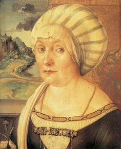 Albrecht Dürer ~ Felicitas Tucher, nee Rieter, 1499