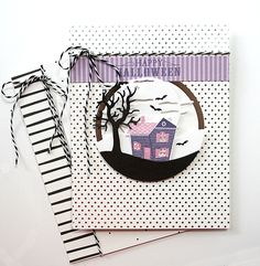 Happy Halloween Card by Danielle Flanders for Papertrey Ink (August 2015)