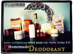 Homemade Deodorant N