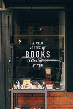 https://flic.kr/p/oxEPJN | Wolfman's Books | A Wild Vortex of Books Flying Right at You. VSCO: Kodak Portra 160 VC+