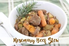Rosemary Beef Stew + $100 Amazon Gift Card Giveaway! | The Larson Lingo | Bloglovin'