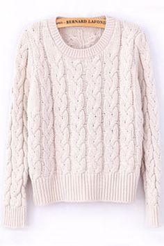 beautiful classic sweater, also pretty in the bright blue !! classic-cable-sweater