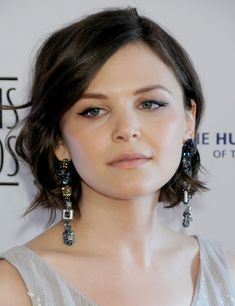 Ginnifer Goodwin - does she ever have a bad hair day? Hairstyles For Round Faces, Pixie Hairstyles, Pixie Haircuts, Round Face Short Haircuts, Round Face Bob, Short Hair For Round Face Plus Size, Haircut Short, Shaved Hairstyles, Undercut Hairstyles