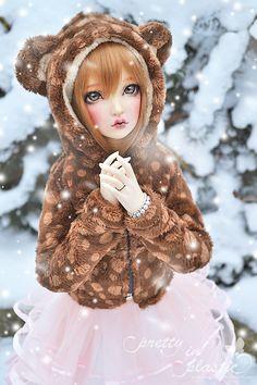 let it snow, let it snow...Bjd doll by prettyinplastic on DeviantArt