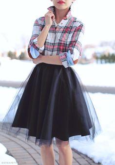 tulle circle skirt DIY tutorial4