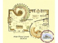Fibonacci House Plan - Custom House Plans with A Point of View