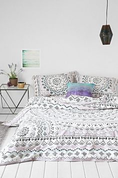 Urban Outfitters Plum & Bow Mia Medallion Duvet Cover on shopstyle.com