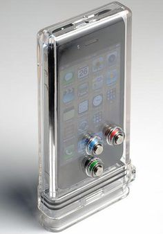 Waterproof Iphone case. I NEED this. My days at the beach will SO much better.