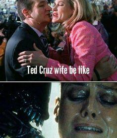 Ted Cruz wife be like