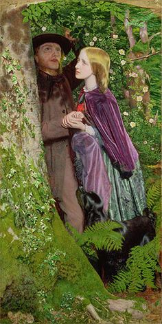 The Long Engagement (1859 ) by Arthur Hughes