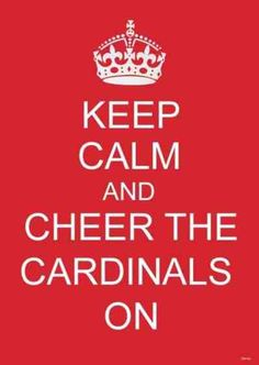 Louisville Cardinals...the only good Cardinals to cheer for!