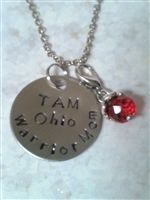 Personalized stamped jewelry and accessories. and other perfect pre-stamped gifts for everyone you love! Id Holder, Stamped Jewelry, Hand Stamped, Pendant Necklace, Bracelets, Earrings, Gifts, Accessories, Bangles