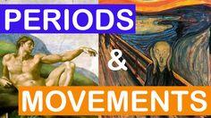 Little Art Talks — Art Periods and Art Movements ICT in Visual Arts Education Art History Lessons, Art Lessons, Art History Timeline, Art Timeline, School Art Projects, Art School, Classe D'art, Art Periods, Art Curriculum