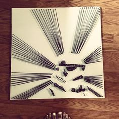 Star Wars Storm Trooper String art by DisorderAndDisarray on Etsy