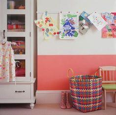 Magnet strips for kids art!