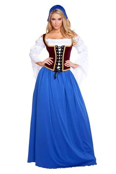 Sexy Beer Girl Beautiful Bar Maiden Octoberfest Halloween Party Costume Roma #Roma #CompleteOutfit