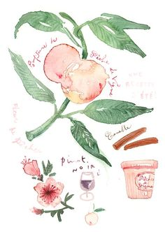 luciles kitchen watercolors