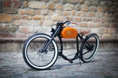 Otocycles Electro Bikes: beautiful models of electric bicycles strongly inspired by the design of motorcycles from the 50s