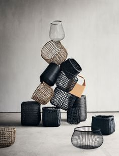 Baskets from @bolia. #allgoodthings #danish spotted by @missdesignsays