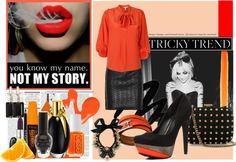 """""""Orange Jus !"""" by pursuitof-happiness ❤ liked on Polyvore"""