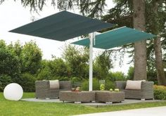 Patio umbrella stand serve to hold large patio umbrellas upright. The stand is typically constructed of heavy metal or plastic, Patio Umbrella Stand, Offset Patio Umbrella, Cantilever Umbrella, Diy Pergola, Cheap Pergola, Support Parasol, Waterproof Pergola Covers, Garden Awning, Patio Awnings