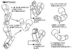 「ロボット・デフォルメ講座4(笑)」/「歩き目です」のイラスト [pixiv]