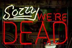 Sorry, we're dead :) mr jt