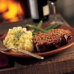 """Barbecued"" Meat Loaf Recipe 
