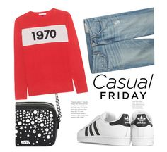 """""""Casual Friday (Top Set 14 Sept 2016 - Thanx PV!!!)"""" by hattie4palmerstone ❤ liked on Polyvore featuring rag & bone, adidas Originals, Karl Lagerfeld and Bella Freud"""