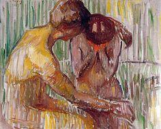 Edvard Munch - Consolation, 1907
