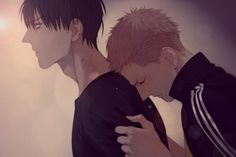Oooh! The very cute Mo Guan Shan cries on He Tian it's very adorable