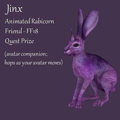 Merchant: Jinx Prize Name: Animated Rabicorn Friend - Prize Type: Accessory/Companion Animation, Type, Animation Movies, Anime, Anime Shows, Motion Design
