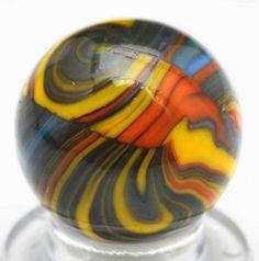 Stunning Christensen Agate Striped Opaque Marble.